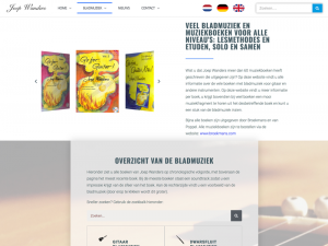 Websitedesign Joepwanders door wwXL