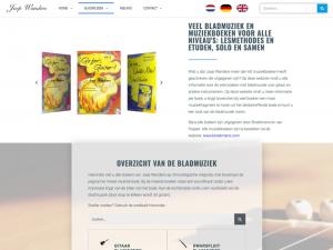 Websitedesign Joepwanders door wwXL