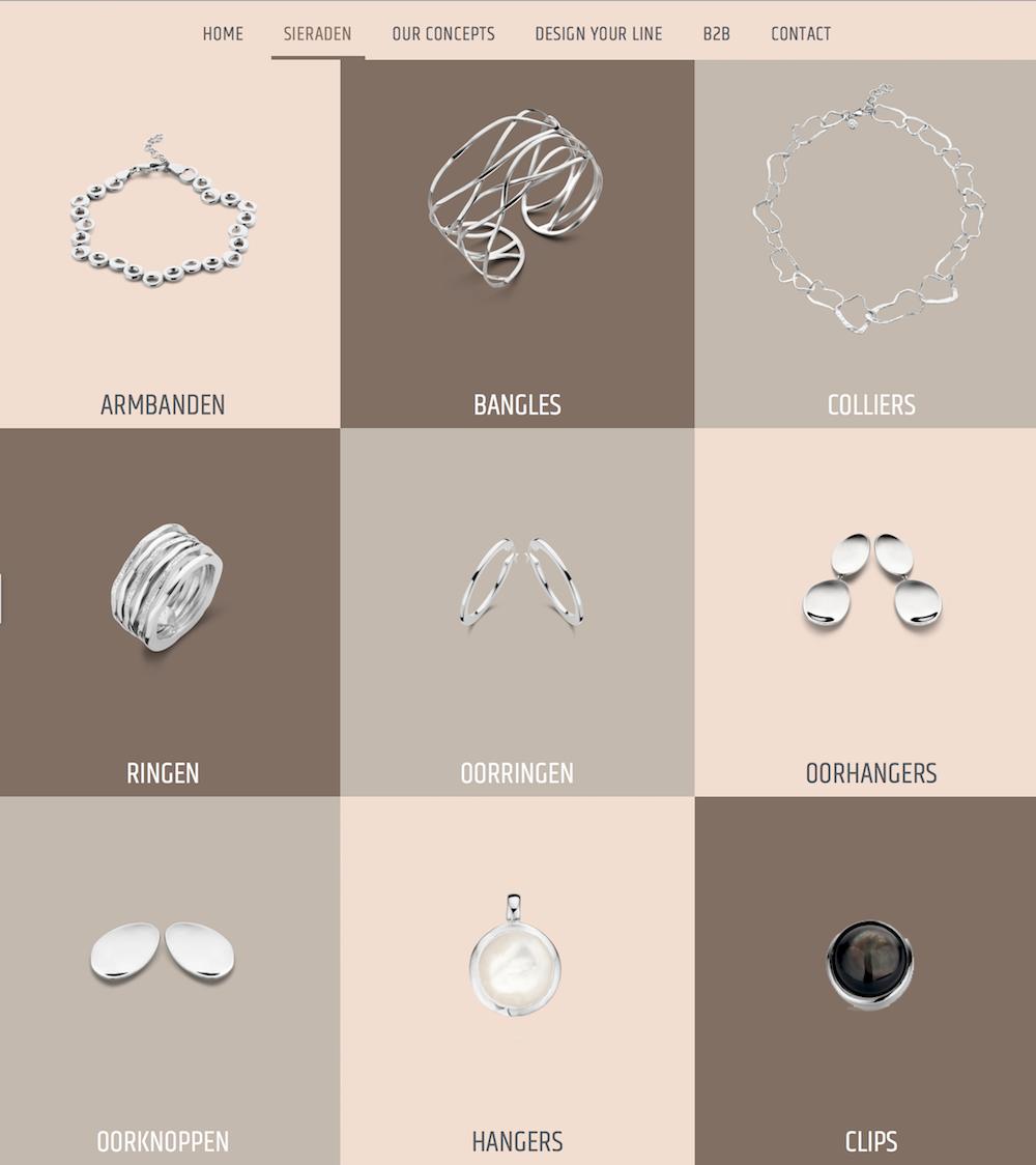 website ontwerp en websitebouw Casa Jewelry